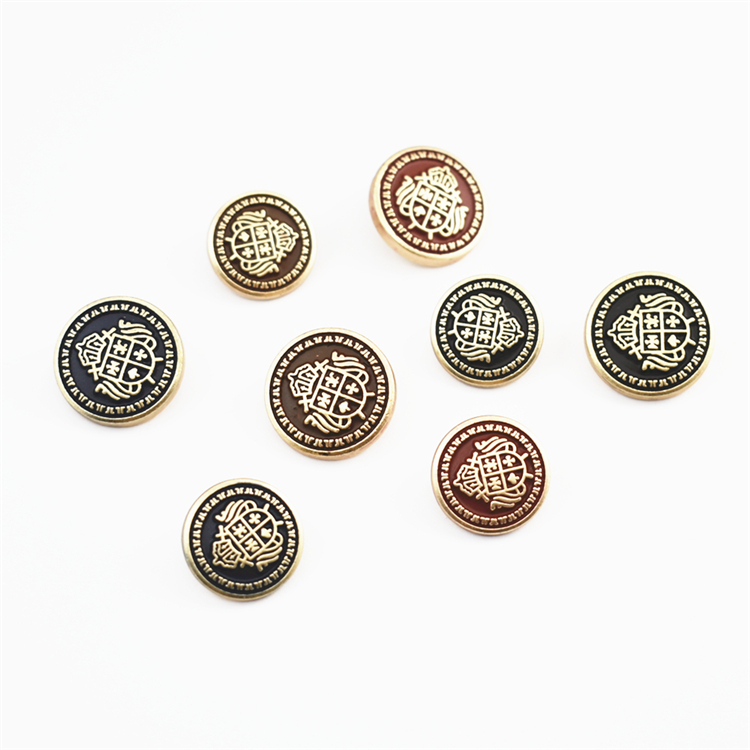 Button art button high grade fashion British crown big button suit coat coat oil dripping frosted button metal button