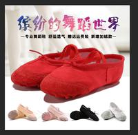 儿童舞蹈鞋幼儿练功鞋女童猫爪鞋男成人跳舞鞋芭蕾舞瑜伽鞋软底鞋