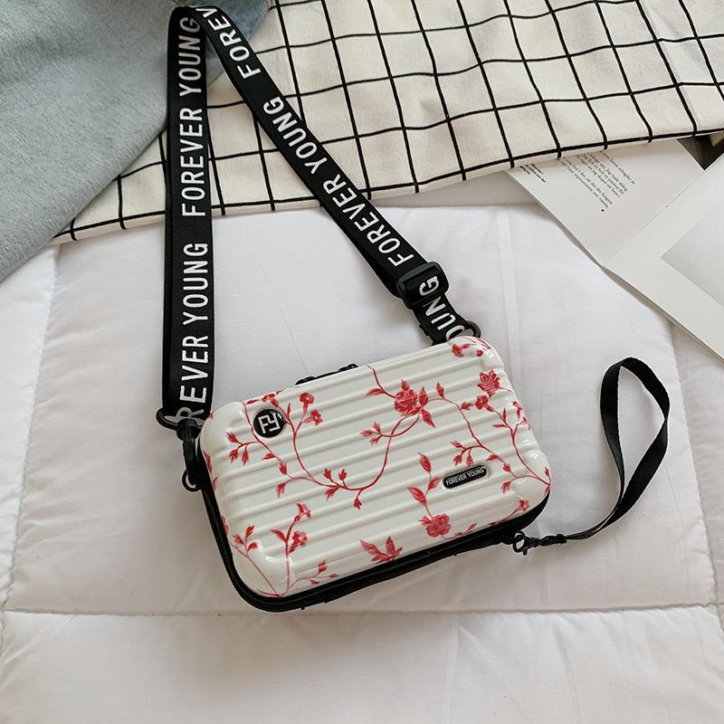 Womens suitcase style travel super hot bag this years popular small bag