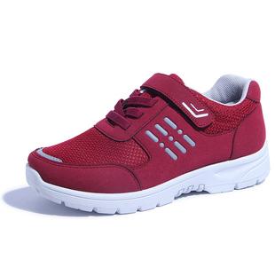中年健步鞋女老年人奶奶鞋子40女鞋