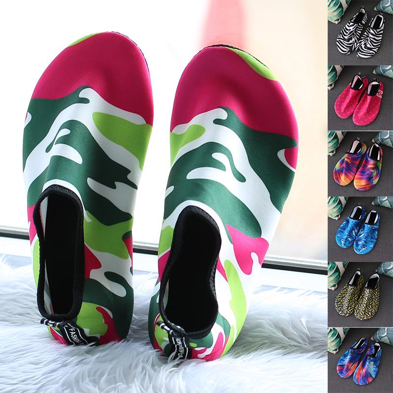 男女浮潜鞋防滑潜水鞋沙滩运动鞋加厚珊瑚鞋水母鞋游泳潜水袜3706
