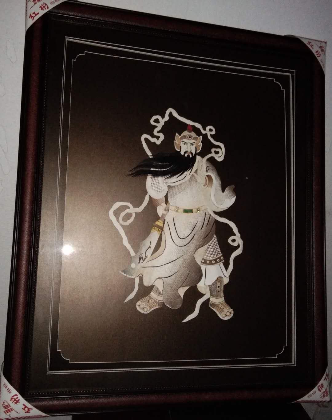 Фортуна длинные 100 * 63 кожи кожи картины Хежен ручная работа Художественная роспись декоративно-прикладного искусства