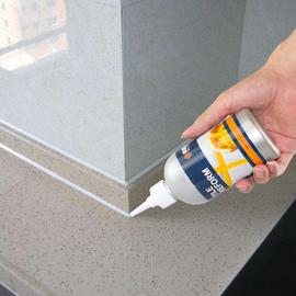 浴室卫生间墙面地板瓷砖美缝填缝勾缝替代玻璃胶清洁剂防水防霉图片