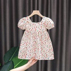 女童连衣裙夏装2020年新款洋气小童夏天童装儿童夏季宝宝薄款裙子