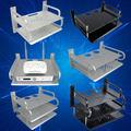 太空铝合金电视机顶盒架子路由器投影仪壁挂式双层三层置物架加高