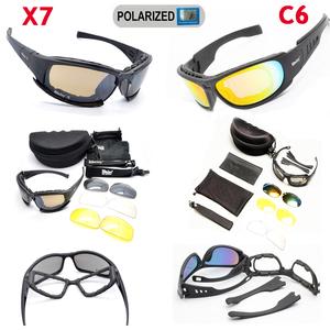 真人CS偏光军版美国Daisy x7/C5/C6护目镜战术眼镜墨镜射击风镜