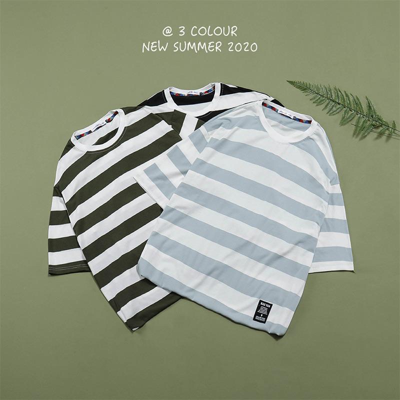 日系夏季砖墙挂拍平铺大码原创男短袖T恤 T232 P30