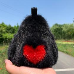 哥本哈根水貂毛大猩猩挂件公仔汽车钥匙扣包包挂饰男金刚可爱礼品