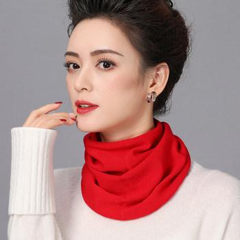 护颈椎冬季套头韩版领圈羊毛围脖