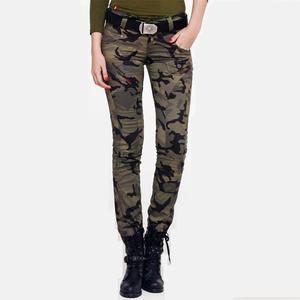 战地户外服装迷彩女裤子工装长裤作训裤弹力修身休闲裤军迷战术裤