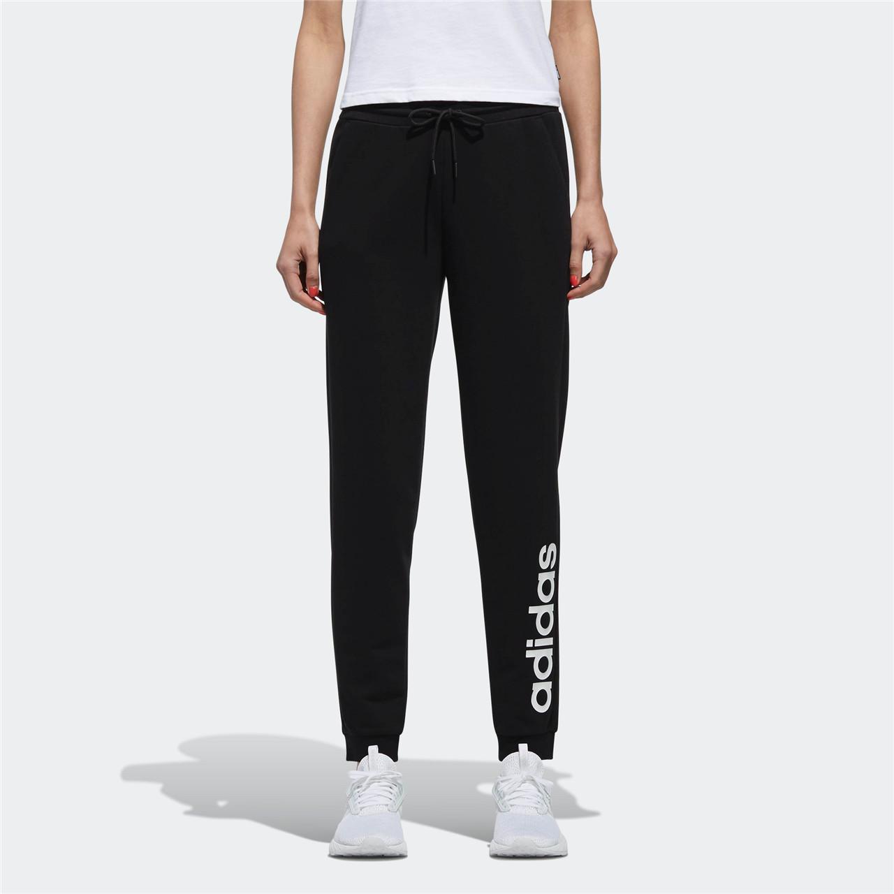 adidas neo阿迪休闲女子长裤 W CE TRACK PANT针织长裤DM2063