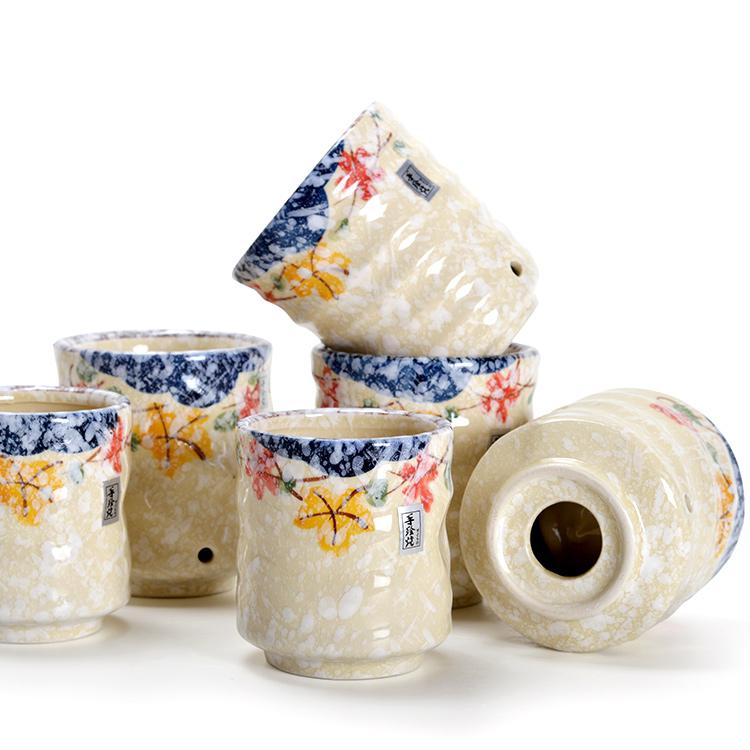 Керамика глазурь следующий цвет керамика ни один из чашка палец печать чашка один двойной изоляция чашка чай чашка японский магазин семья чашка