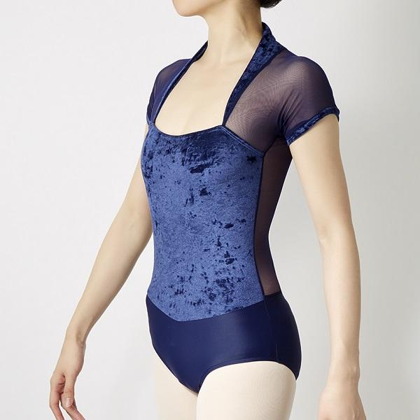 浮生若舞葡萄牙ballet rosa丝绒优雅拼接芭蕾舞蹈瑜伽练功服vamp