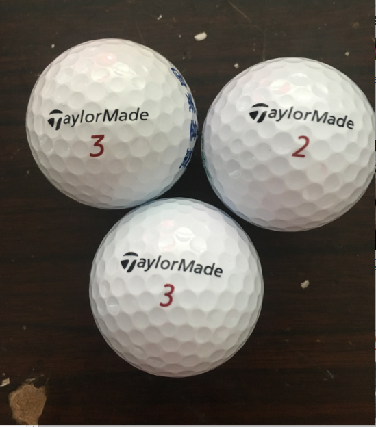 Taylor Made Golf double course competition package white