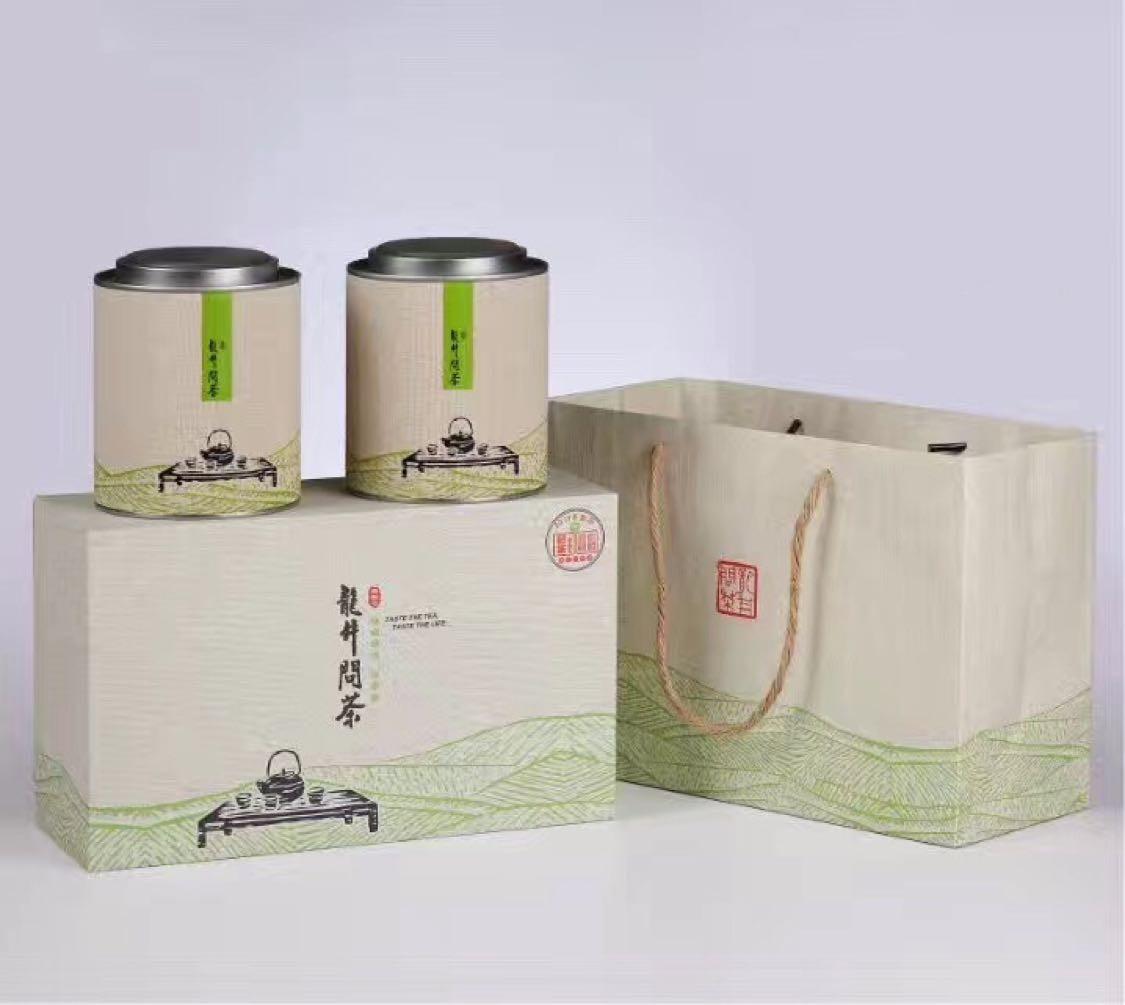 杭州西湖龙井 狮峰龙井特级头采明前茶茶叶250g包装 半斤礼品装