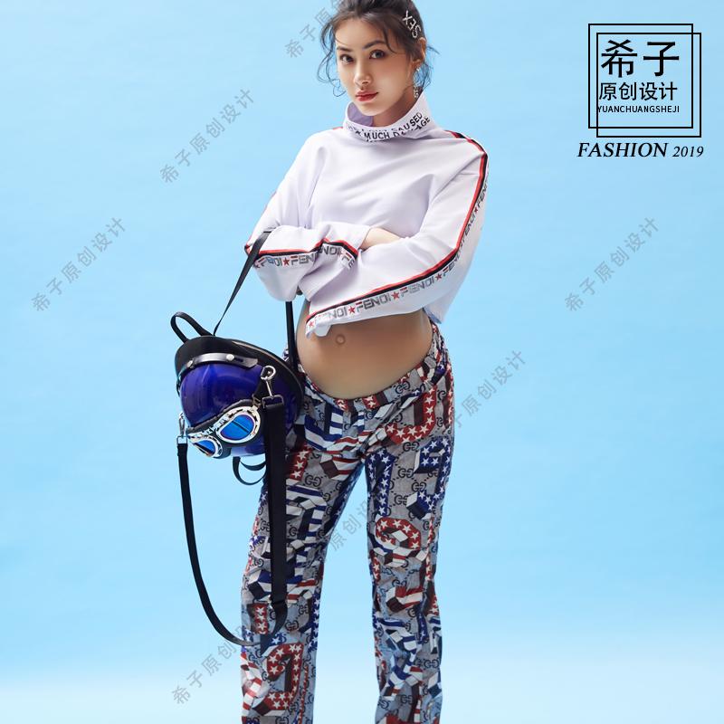 影楼孕妇摄影服饰2019上海展会新款时尚性感写真主题拍摄希子原创