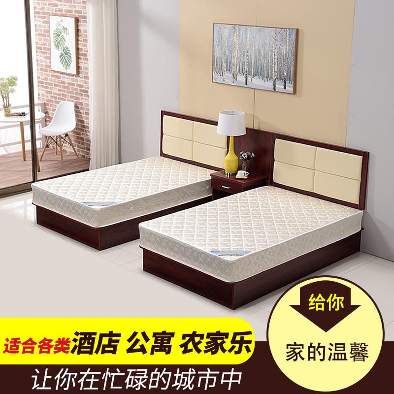 Экспресс-отель Меблированный отель Bed Apartment King Bed стандартный 1,2 м кровать полностью Комплект прямой цены на мебель для спальни