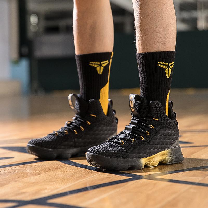 官方詹姆斯16代籃球鞋aj1男鞋17歐文5地獄之火毒液15球鞋運動鞋11