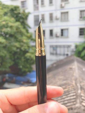 丁亮书法专用练字钢笔成人商务办公送礼弯尖弯头美工笔男女生硬笔