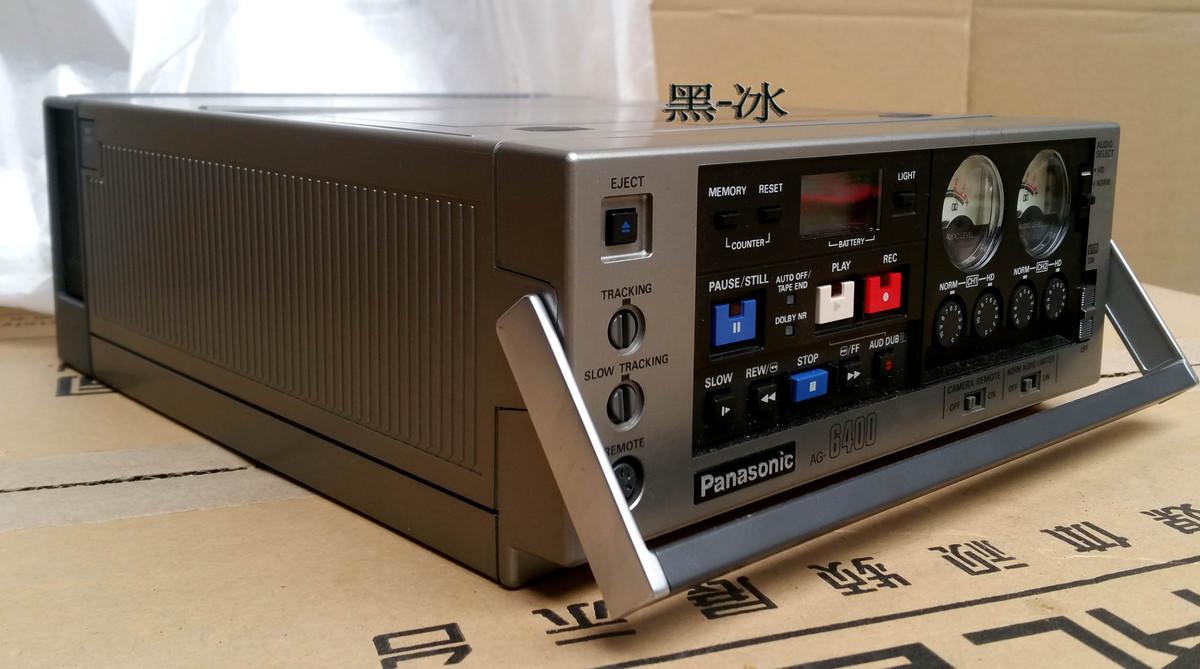 Panasonic/松下 AG-6400全新录像机【背包机】VHS磁带录像机