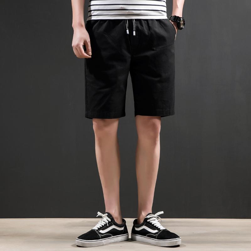 Plover短裤男士五分裤 潮流休闲宽松夏季工装裤 夏天时尚修身男裤