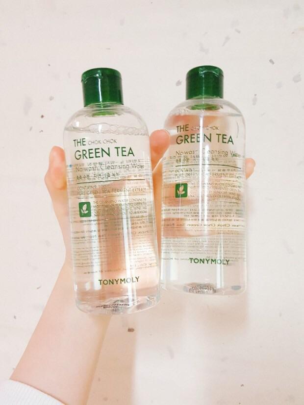 韩国正品TONYMOLY魔法森林绿茶卸妆水 清爽保湿温和300ML