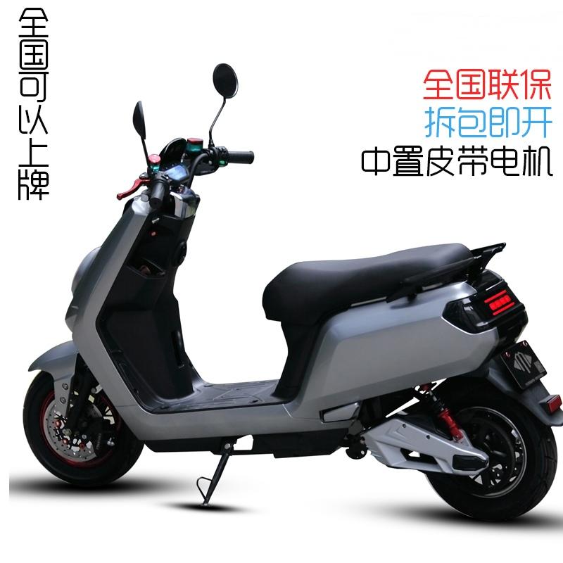 小牛宝60v72v锂电池大金牛电瓶车电动摩托车中置电机电摩女可上牌