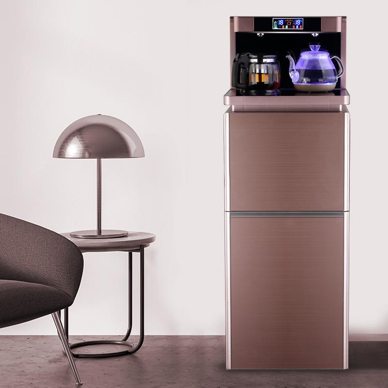 11月07日最新优惠美凌达新款家用全自动遥控茶吧机饮水机大尺寸立式下置式水桶上水