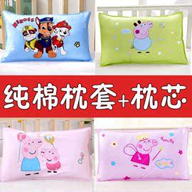 儿童枕头一女童1-3岁半6纯棉0小孩2可爱zt整头卡通婴儿幼儿园宝宝图片