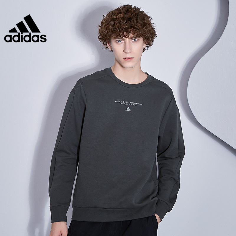 Adidas official website authorizes 2020 winter new men's sports and leisure sweater pullover GM4426