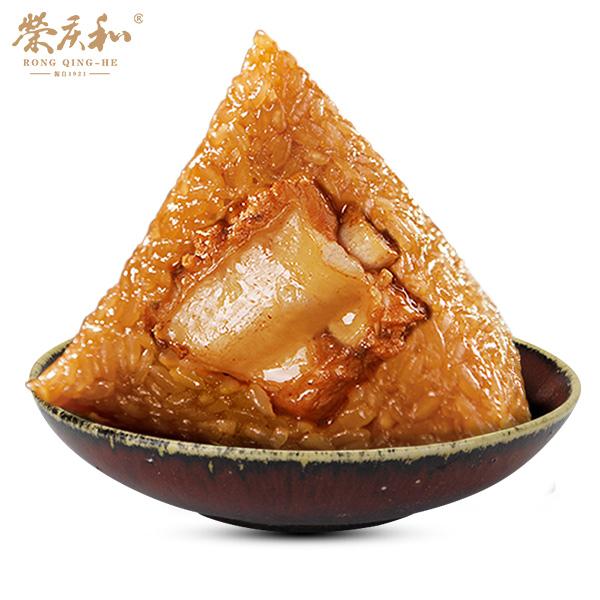 荣庆和红烧排骨粽120克*1只新鲜粽子真空散装嘉兴粽子叶端午节