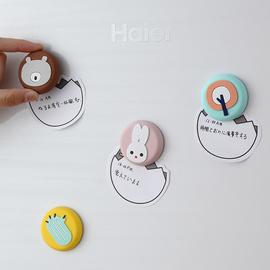 可爱卡通立体软胶冰箱贴磁贴创意萌物磁力贴装饰磁铁留言板磁性贴图片