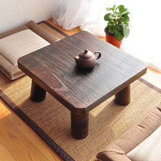 Татами-столы,  Японский сжигать павлония маленький квадрат стол простой татами эркер стол маленький столик короткая стол дерево земля стол бесплатная доставка, цена 906 руб