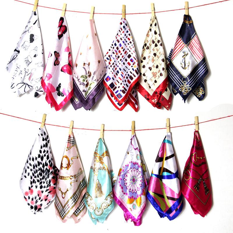 春夏の雰囲気の小さいスカーフの新型の小さいスカーフの韓国版のスカーフの百組のプリントの薄い女性の頭巾の職業のマフラー