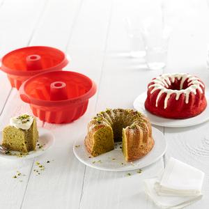 LEKUE乐葵硅胶戚风蛋糕模具烘焙家用468寸蒸烤箱烘培工具套装磨具