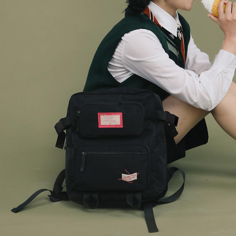 券后135.00元印树INSO 时刻系列 2019新款原创可爱学生双肩包校园背包ins包 女