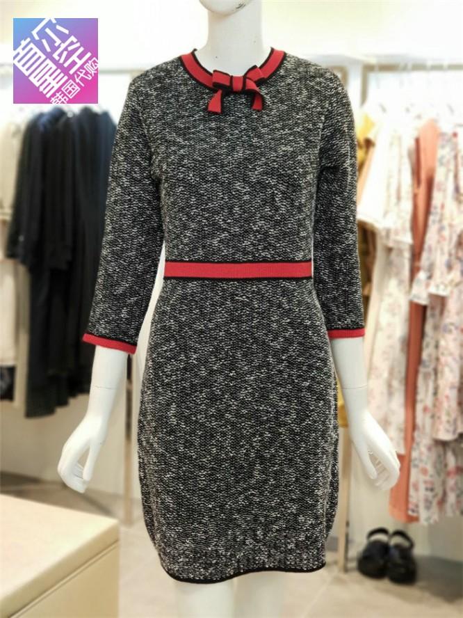 包邮海外直邮 OLIVE DES OLIVE韩国专柜代购2018秋连衣裙OK8AO709
