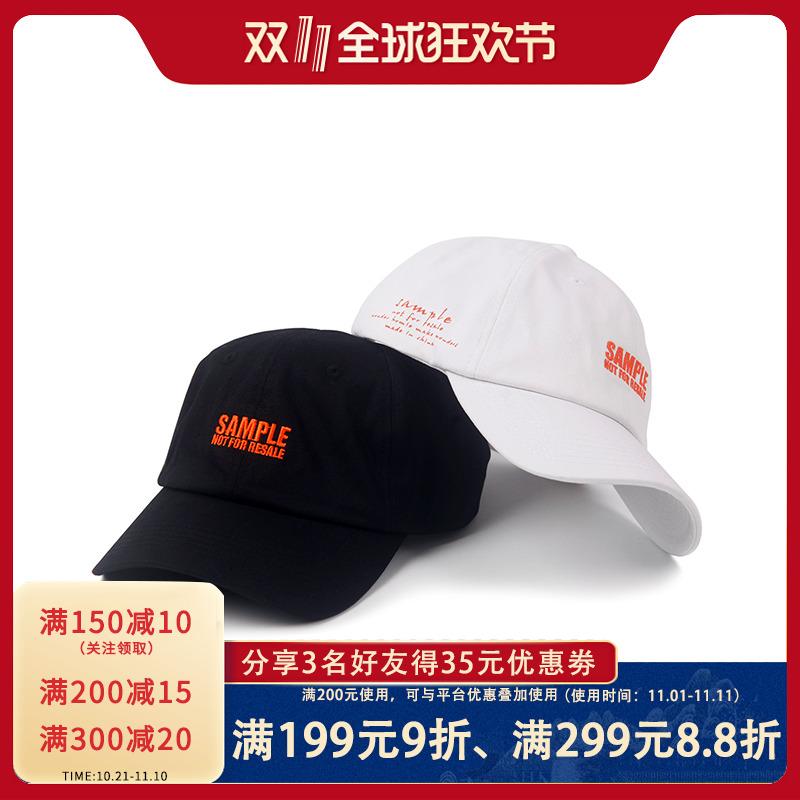WONDER HOMIE 2017SS 口号帽系列 SAMPLE 弯帽檐 男女 老爹帽
