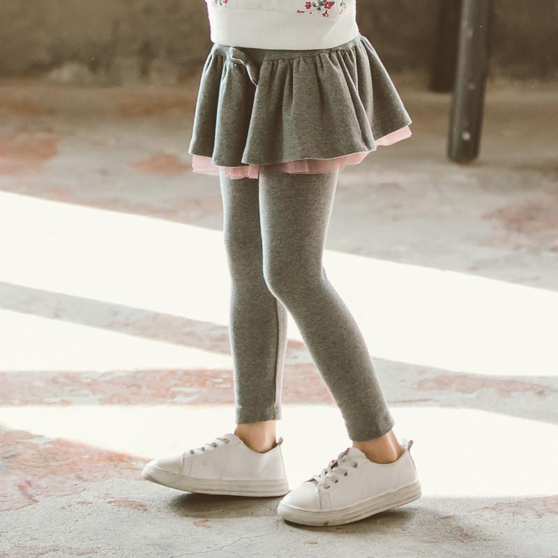 女童网纱裙裤外穿假两件春秋打底裤满128.00元可用88.1元优惠券