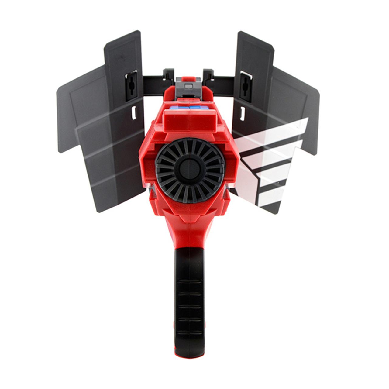 美泰火線營先鋒戰將旋轉發射器兒童玩具軟彈槍男孩BLL36