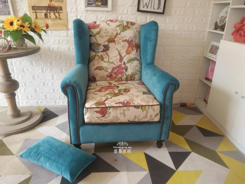 沙发家具布艺沙发欧式可拆洗单人双三客厅卧室小户型办公椅整装