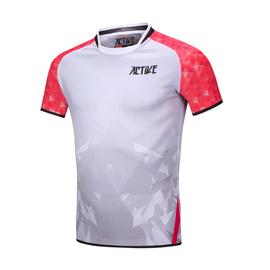 新款ACTIVE青年英式橄榄球服 短袖橄榄球衣定制 号码名字等自定义图片