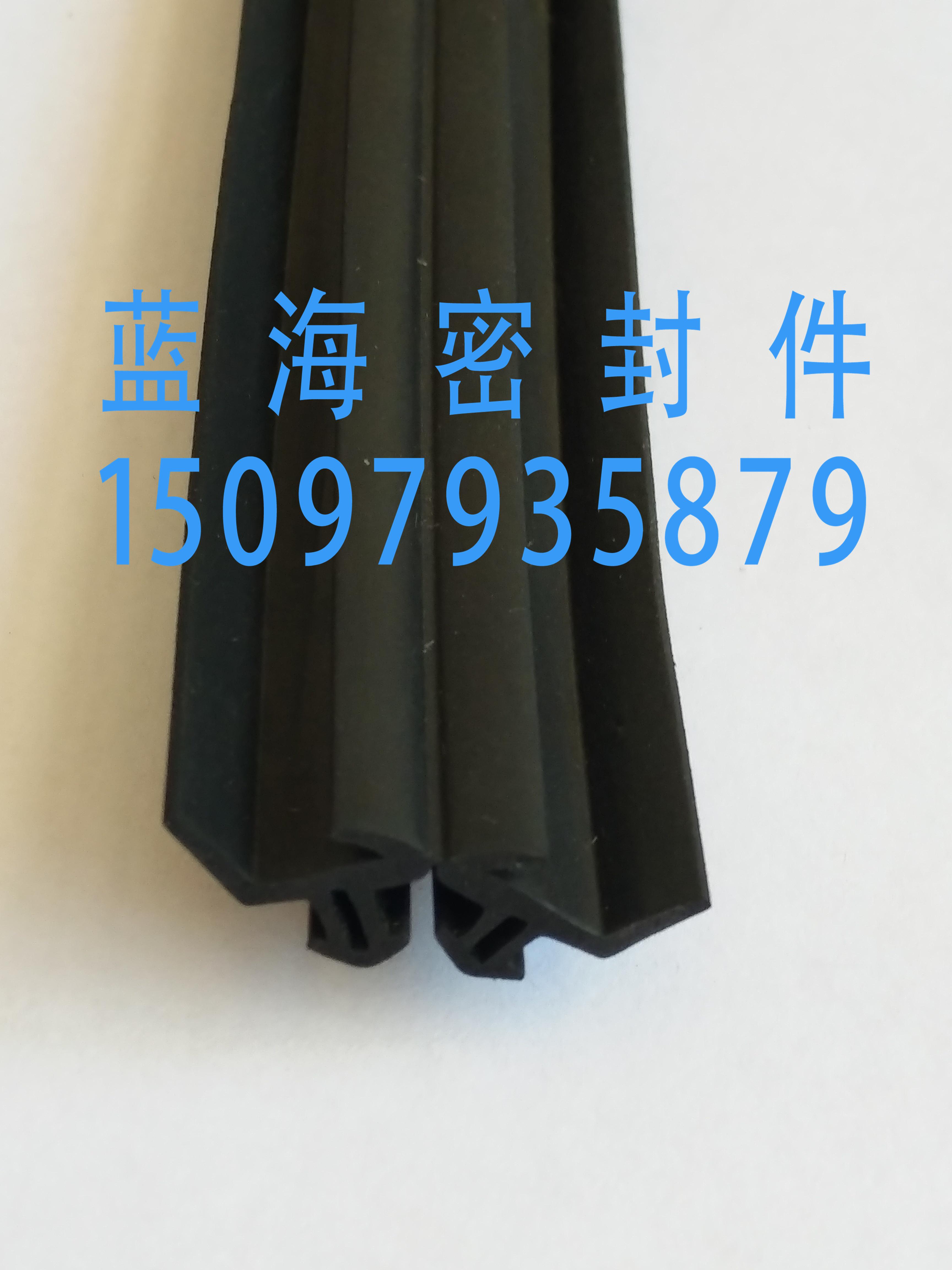 Дверь окно Клей для открывания полосатый Резиновое уплотнение из EPDM полосатый Пластиковая резина полосатый Сломанный мост алюминий печать полосатый Резиновая кожа полосатый
