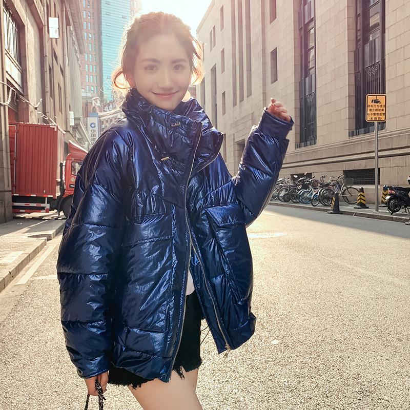 特大码女240斤冬装胖妹妹大码棉服女200斤韩版加大码短款加肥棉袄图片