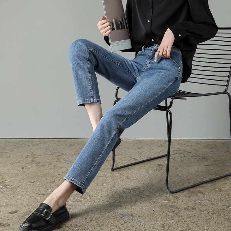 直筒女宽松春装2021年新款子牛仔裤好用吗