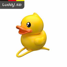 B.duck小黄鸭乐的儿童车铃平衡车滑板车会响发声发光玩具童车配件