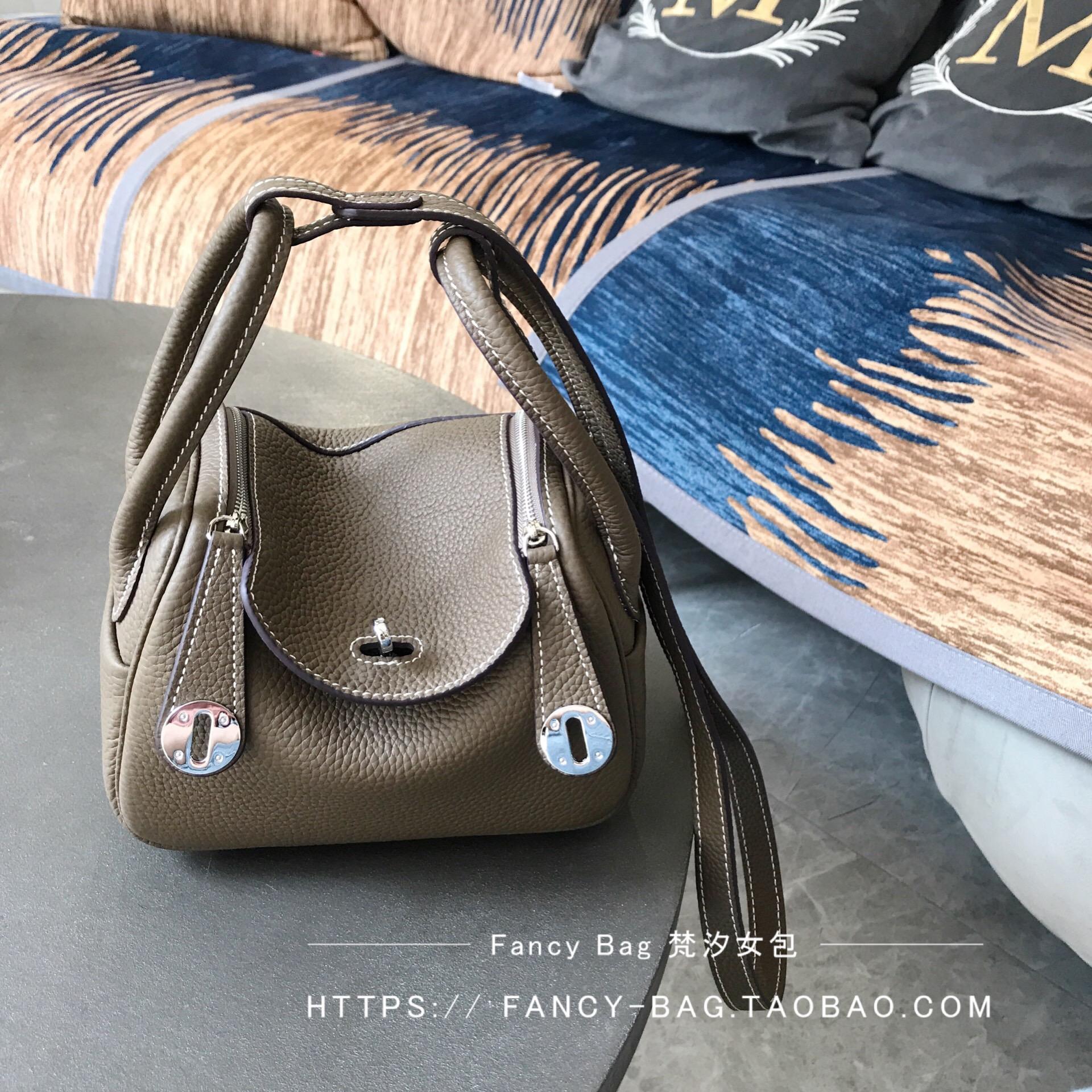 Mini Lindy bag platinum bag second generation doctor Kelly bag h home leather womens bag small CK Single Shoulder Messenger Bag