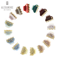 French Alexandre de Paris Alexander Mini Vendome grab Liu Hai clip hairpin hair accessories