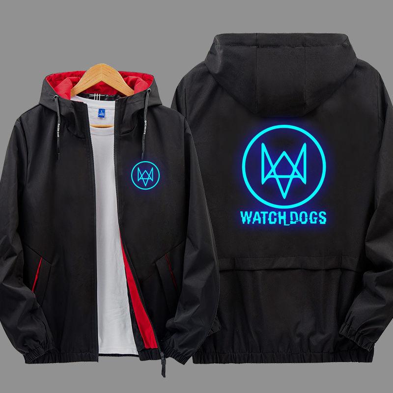 Luminous watchdog 2 coat animation game peripheral clothing