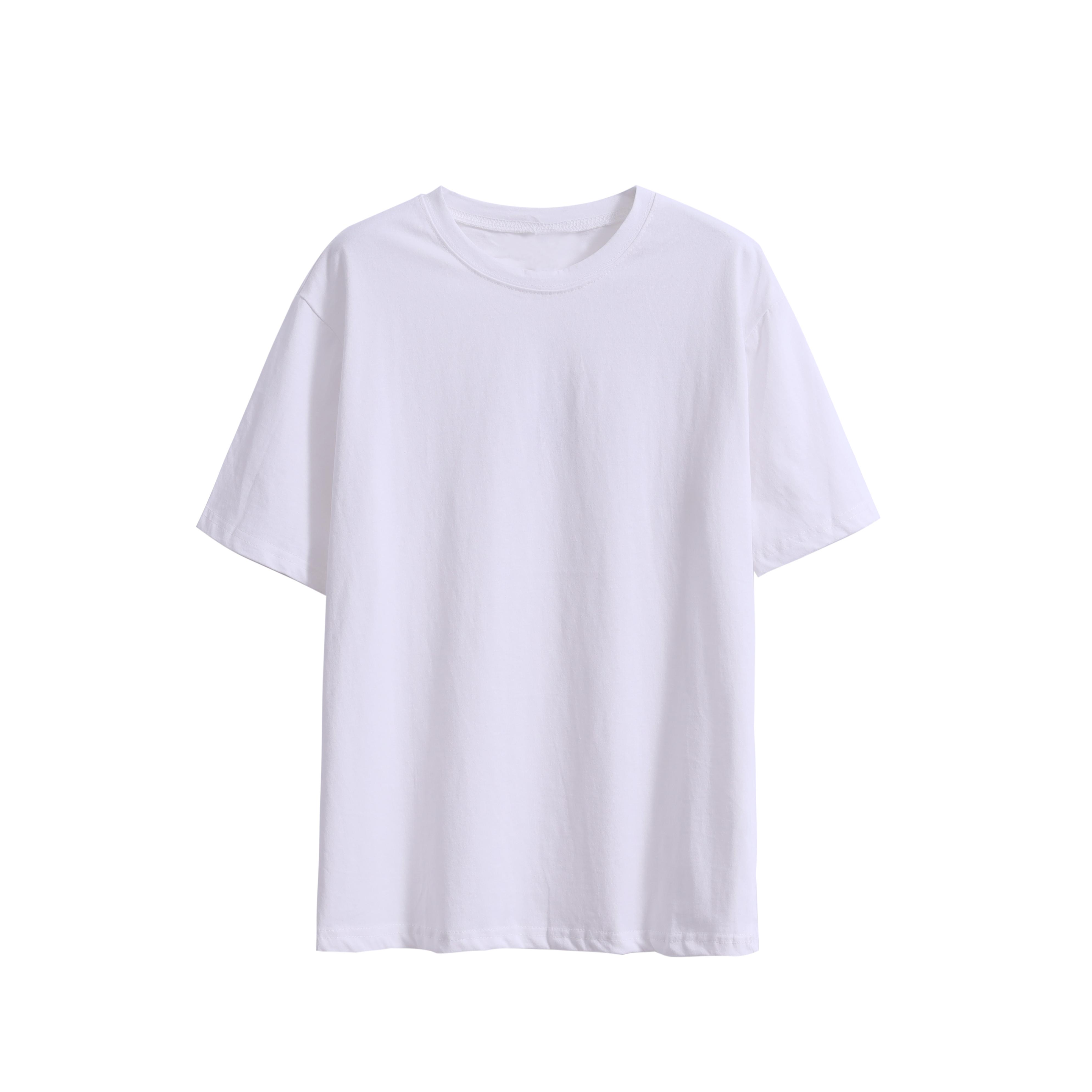 樱田川岛2020新款夏季网红纯色宽松打底衫纯棉T恤上衣短袖女ins潮
